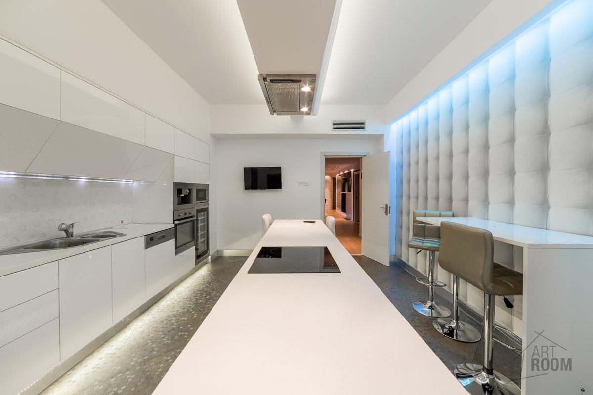 Bucatarie apartament de lux