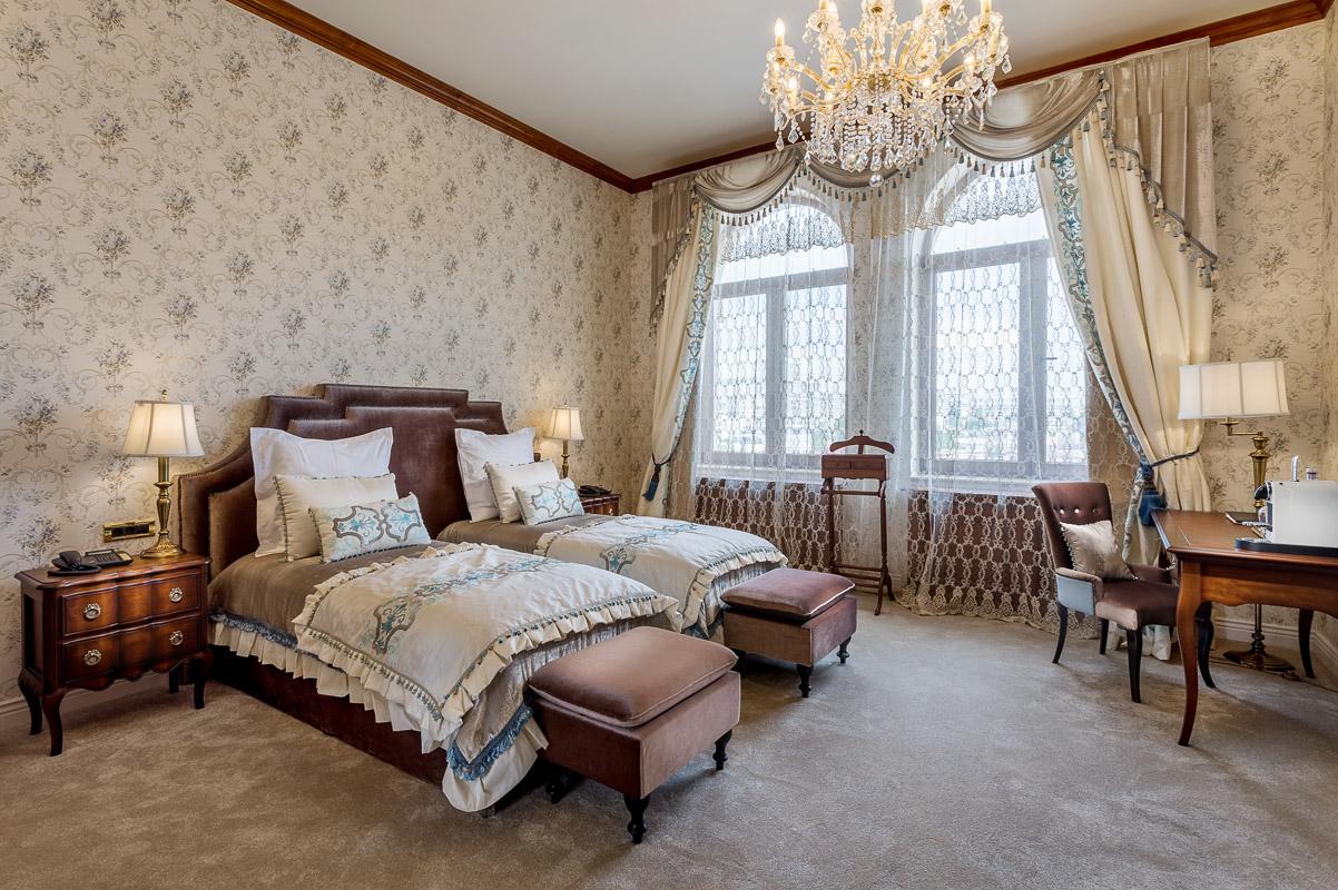 Prezentare camera de lux hotel